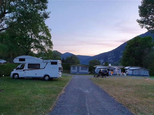 Emplacements camping de Vallorbe