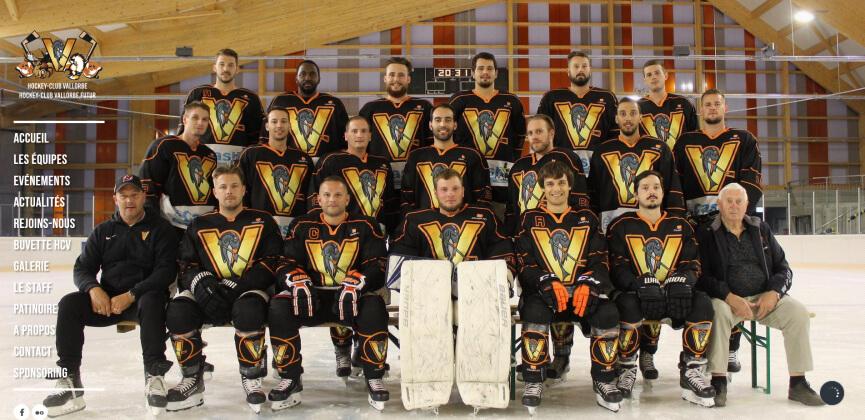 Site du Hockey Club Vallorbe