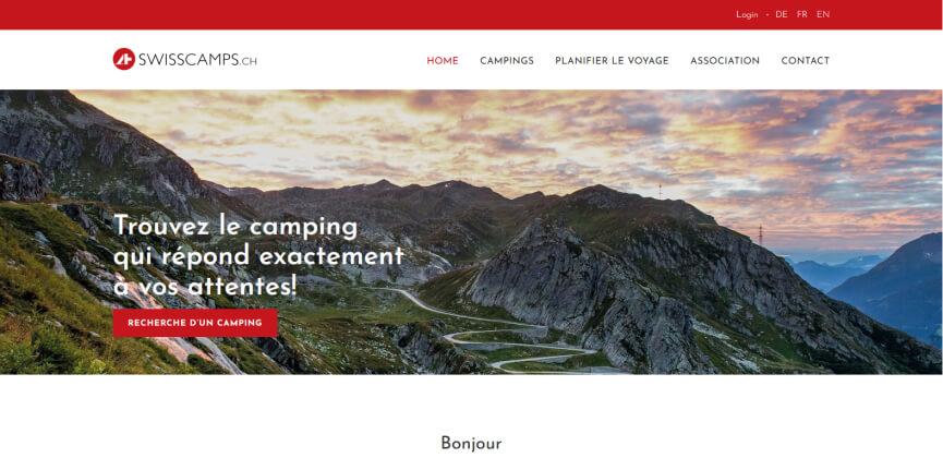 Site Swisscamps